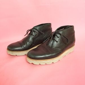 SALE Opening Ceremony Leather Ankle Booties